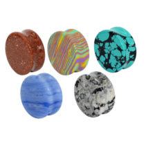 金属アレルギー対応の天然石やシリコンの新作ボディピアス